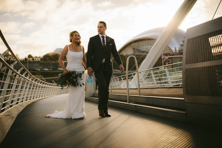 A Stylish Wedding at The Baltic (c) Nigel John (37)