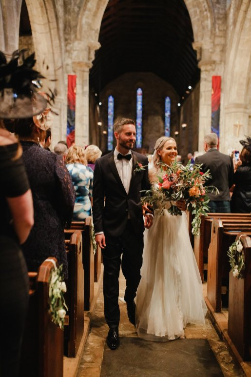 A Boho Luxe Wedding at Healey Barn (c) Helen Russell Photography (16)