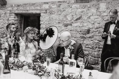 A Boho Luxe Wedding at Healey Barn (c) Helen Russell Photography (53)