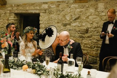 A Boho Luxe Wedding at Healey Barn (c) Helen Russell Photography (54)