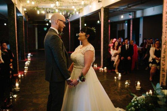 A Cool Wedding at Victoria Warehouse (c) Dan Hough (8)