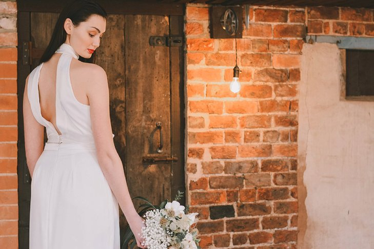 An Industrial Glam Bridal Shoot at Deighton Lodge (c) Littles and Loves Photography (17)
