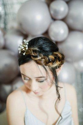 A Contemporary Coastal Bridal Shoot at Marsden Rock (c) Leanne Elizabeth Photography (32)