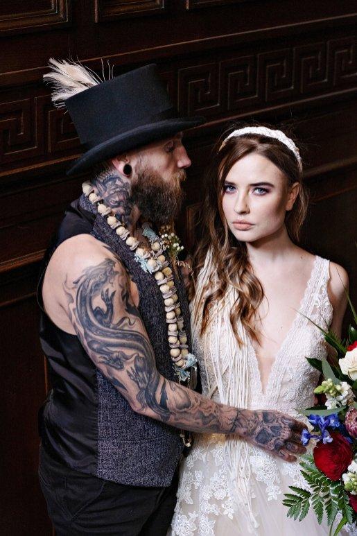 A Bold Boho Wedding Shoot at Eaves Hall (c) Teresa C Photography (9)