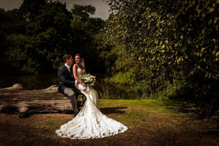 A Rustic Wedding at Sandhole Oak Barn (c) Lee Brown Photography (55)