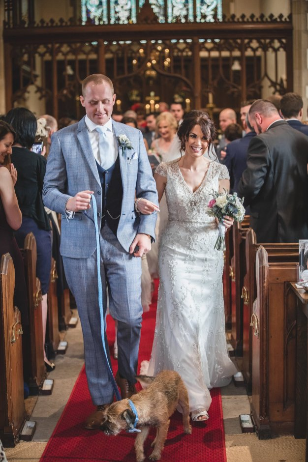 Kenneth Winston for a chic wedding at Yorkshire Wedding Barn (c) Michael Wilkinson Photography (29)