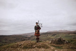 A Rustic Wedding in Scotland (c) Fox & Bear Photography (27)
