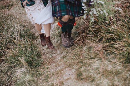 A Rustic Wedding in Scotland (c) Fox & Bear Photography (47)