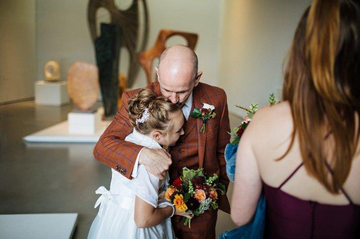 An autumn wedding at The Hepworth Wakefield (c) Matt Sim Photograohy (50)
