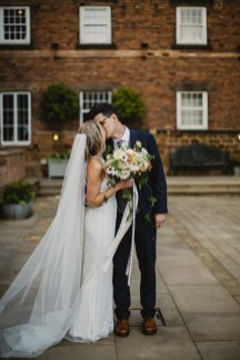 Rosa Clara for a Stylish Wedding at The West Mill (c) S6 Photography (139)