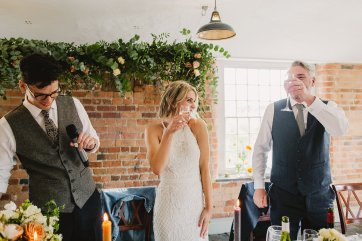 Rosa Clara for a Stylish Wedding at The West Mill (c) S6 Photography (160)