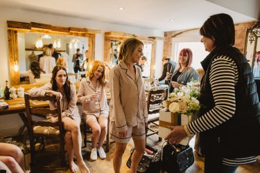 Rosa Clara for a Stylish Wedding at The West Mill (c) S6 Photography (18)