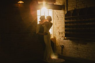 Rosa Clara for a Stylish Wedding at The West Mill (c) S6 Photography (180)