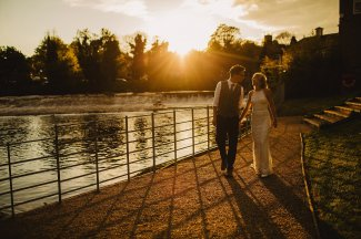Rosa Clara for a Stylish Wedding at The West Mill (c) S6 Photography (181)