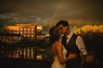 Rosa Clara for a Stylish Wedding at The West Mill (c) S6 Photography (186)