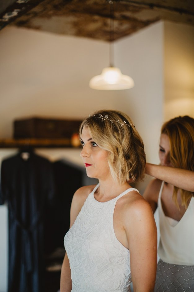 Rosa Clara for a Stylish Wedding at The West Mill (c) S6 Photography (44)