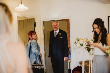 Rosa Clara for a Stylish Wedding at The West Mill (c) S6 Photography (49)