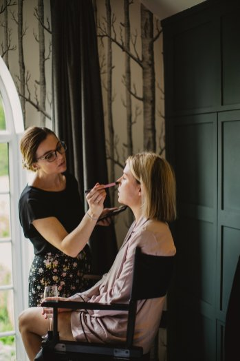 Rosa Clara for a Stylish Wedding at The West Mill (c) S6 Photography (7)
