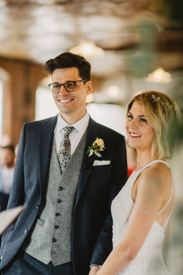 Rosa Clara for a Stylish Wedding at The West Mill (c) S6 Photography (90)