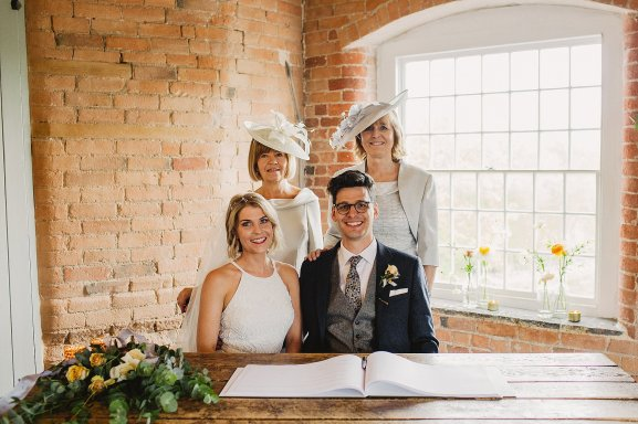 Rosa Clara for a Stylish Wedding at The West Mill (c) S6 Photography (96)