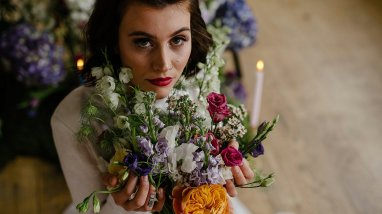 An Urban Styled Bridal Shoot at The Biscuit Factory (c) Dan McCourt (18)