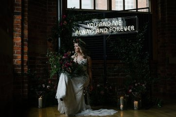 An Urban Styled Bridal Shoot at The Biscuit Factory (c) Dan McCourt (9)