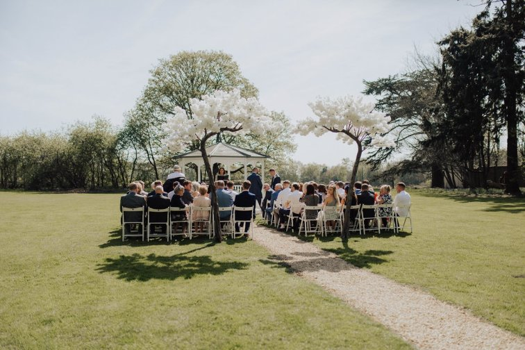 A White Wedding at Somerford Hall (c) Wyldbee Photography (38)