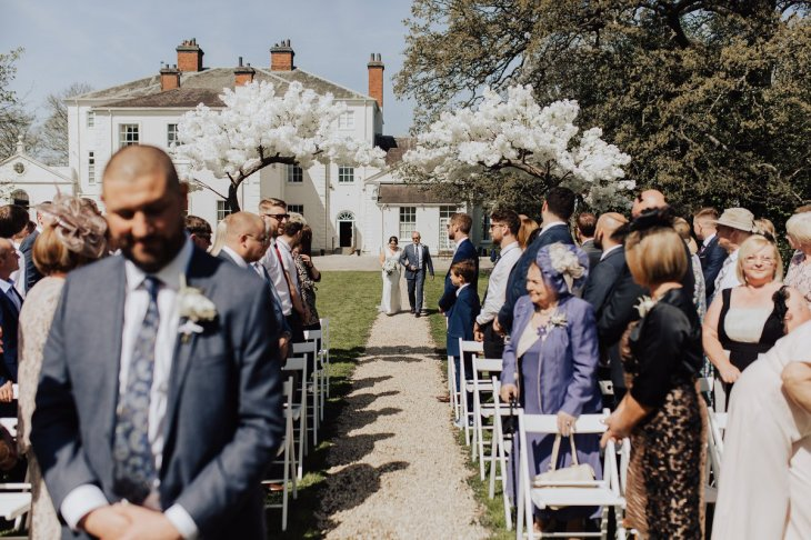 A White Wedding at Somerford Hall (c) Wyldbee Photography (40)