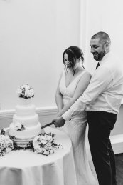 A White Wedding at Somerford Hall (c) Wyldbee Photography (90)