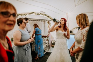 A Rustic Marquee Wedding in Lincolnshire (c) M & G Photographic (79)