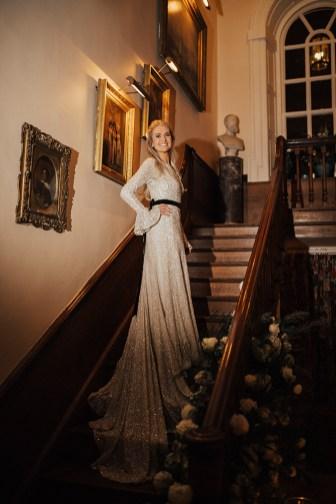 A Winter Wedding at Iscoyd Park (c) Katie Ingram (80)