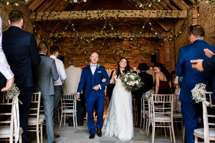 A Rustic Wedding at Barmbyfield Barns (c) Hayley Baxter Photography (42)