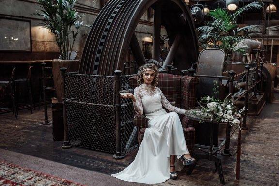 A 1920s Wedding Shoot at Holmes Mill (c) Emma Ryan Photography (22)