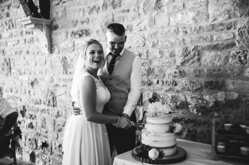 A Rustic Wedding at Yorkshire Wedding Barn (c) Hayley Baxter Photography (87)
