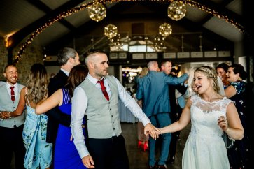A Rustic Wedding at Yorkshire Wedding Barn (c) Hayley Baxter Photography (90)