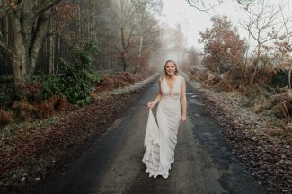 A Winter Wedding at Healey Barn (c) Chocolate Chip Photography (20)