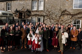 A Winter Wedding in Yorkshire (c) Georgie Beck Photography (53)