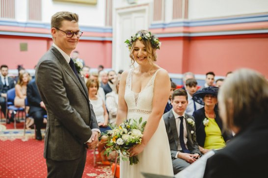 A Boho City Wedding at The Tetley (c) James & Lianne (17)