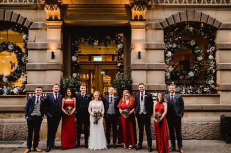 A Chic City Wedding at King Street Townhouse (c) Kate McCarthy (41)