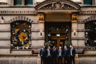 A Chic City Wedding at King Street Townhouse (c) Kate McCarthy (9)
