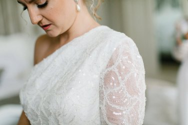 A Stylish Wedding at Lartington Hall (c) Melissa Beattie (17)