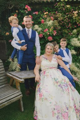 A Colourful Garden Wedding at Home (c) Lissa Alexandra Photography (87)