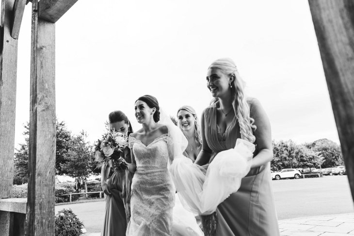 A Pronovias Wedding Dress for a Rustic Barn Wedding at Sandburn Hall (c) Hayley Baxter Photography (35)