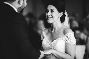 A Pronovias Wedding Dress for a Rustic Barn Wedding at Sandburn Hall (c) Hayley Baxter Photography (47)