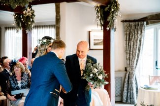 An Elegant Festive Wedding at The Coniston Hotel (c) Hayley Baxter Photography (40)