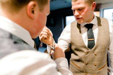Pronovias Wedding Dress for a Winter Wedding at Mitton Hall (c) Kieran Bellis Photography for Brides Up North (3)