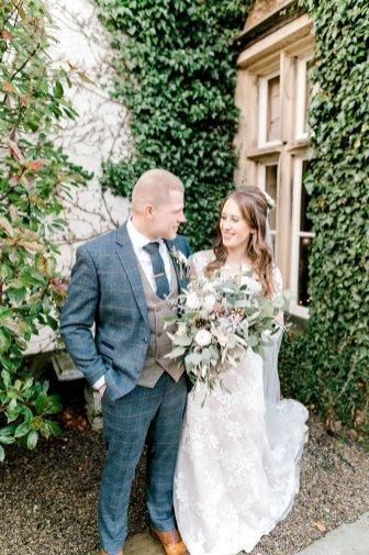 Pronovias Wedding Dress for a Winter Wedding at Mitton Hall (c) Kieran Bellis Photography for Brides Up North (42)