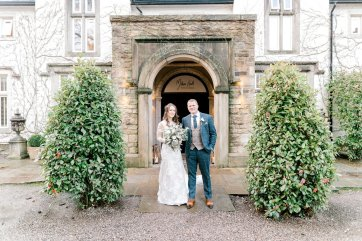 Pronovias Wedding Dress for a Winter Wedding at Mitton Hall (c) Kieran Bellis Photography for Brides Up North (47)