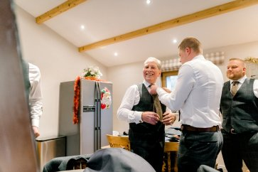 Pronovias Wedding Dress for a Winter Wedding at Mitton Hall (c) Kieran Bellis Photography for Brides Up North (5)