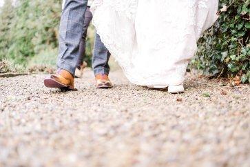 Pronovias Wedding Dress for a Winter Wedding at Mitton Hall (c) Kieran Bellis Photography for Brides Up North (52)